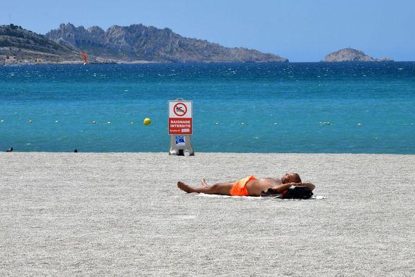 Une nouvelle interdiction sur les plages marseillaises.