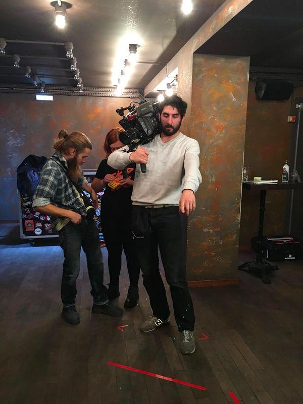 Le tournage a duré deux semaines, budget total 30 000 euros