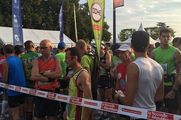 Au départ du Marathon de Tours - 21 septembre 2014