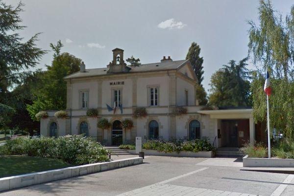 La mairie de Longvic.