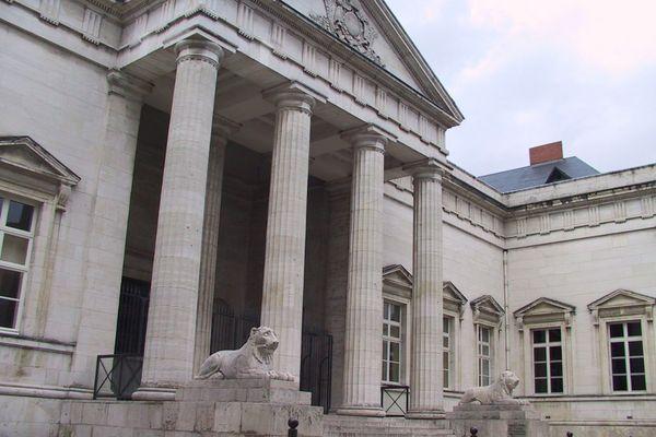 Le tribunal d'Orléans. Photo d'illustration
