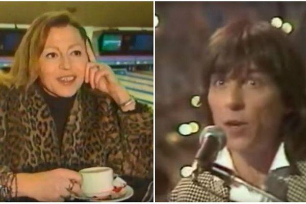 Joëlle Kopf et Cookie Dingler dans les années 1980.