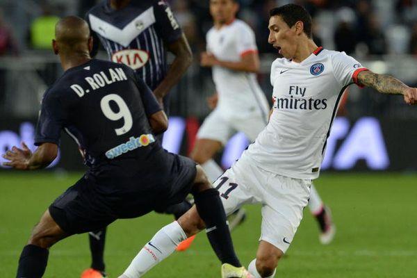 Le Bordelais Rolan au duel face au parisien Di Maria