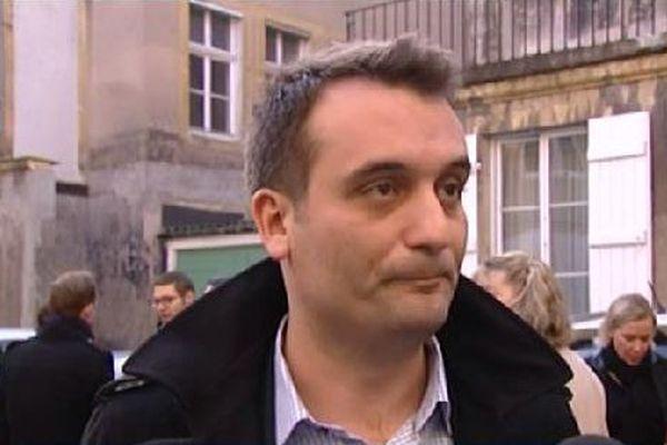 Florian Philippot, vice-président du Front National.
