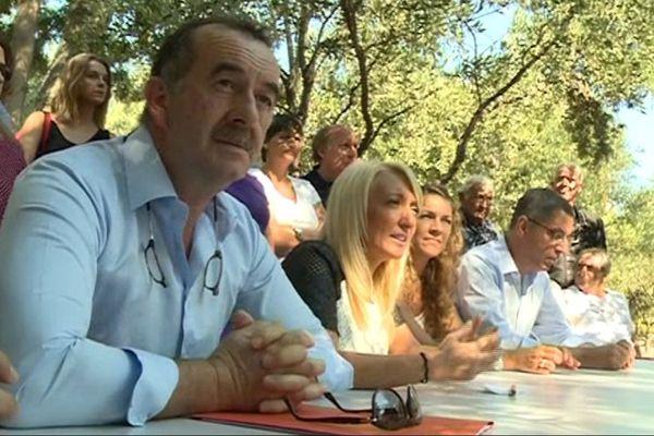 José Gandolfi et Emmanuelle de Gentili ont officialisé cendredi 22 septembre leur candidature à l'élection départementale partielle du canton Bastia III qui se déroulera les 2 et 9 octobre prochains.