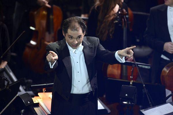 L'orchestre national du Capitole et Tugan Sokhiev en 2016 lors des victoires de la musique Classique
