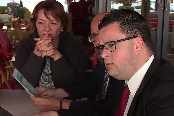 Julien Poussin est tête de liste de l'union des écologistes et de la gauche qui tenait une conférence de presse, ce mercredi 15 janvier, à Fréjus.