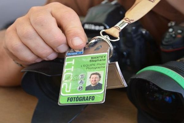 Sportfolio à Narbonne, premier festival dédié à la photographie professionnelle de sport, a décerné son Grand prix 2013 à Stéphane Mantey, journaliste à l'Equipe - archives