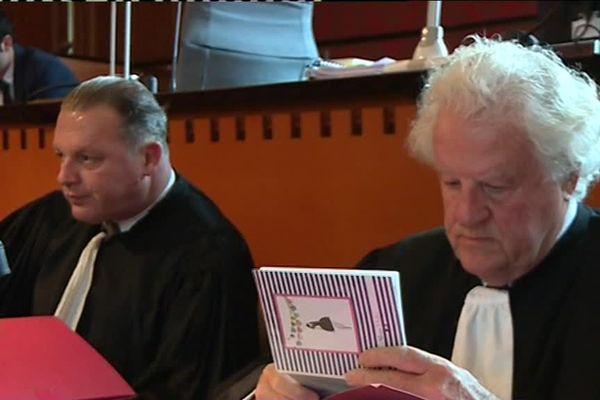 Maitres Boguet et Catala, les avocats de la famille de Maureen Jacquier