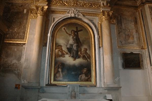 Le Triomphe de la Religion ou La Vierge du Sacré Cœur, 1821 - Eugène Delacroix, Cathédrale d'Ajaccio