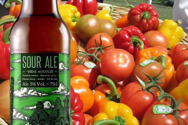 La dernière création de la brasserie historique de l'Abbaye du Cateau est une Sour Ale, une bière acidulée.