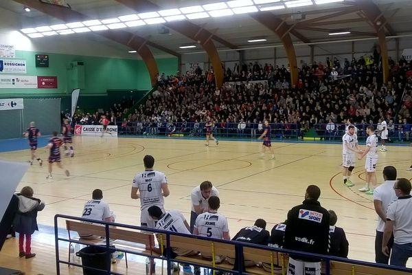 Chartres et Dunkerque s'affronte en 16ème de finale de coupe de France de handball.
