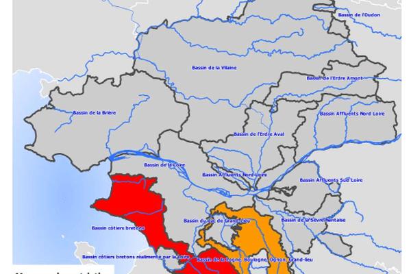 Des restrictions d'eau ont été mises en place en Loire-Atlantique.