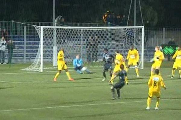 L'US Quevilly a fait match nul face à Bastia.