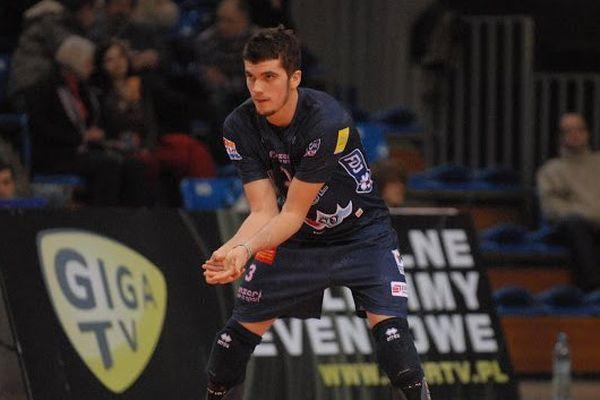 Frédéric Barais, nouvelle recrue du Stade Poitevin Volley Beach