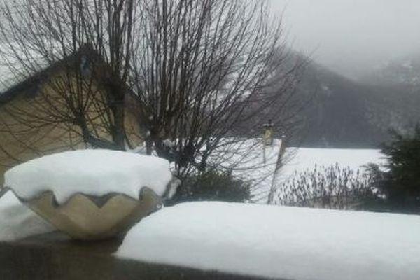 Les routes ariégeoises sous la neige
