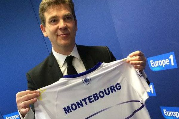 Le maillot made in Tarn d'Arnaud Montebourg