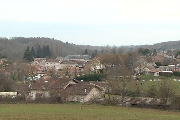 Javerlhac dans le nord-est de la Dordogne