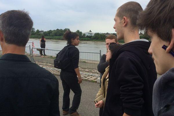 Les amis de Steve ce lundi 24 juin 2019 en bords de Loire