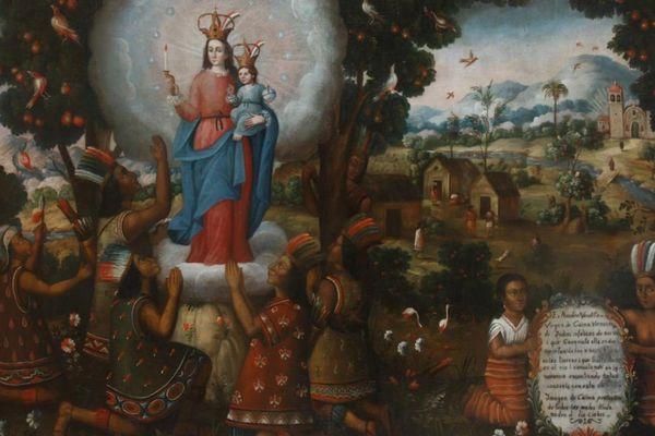 Apparition de la vierge de Caima.