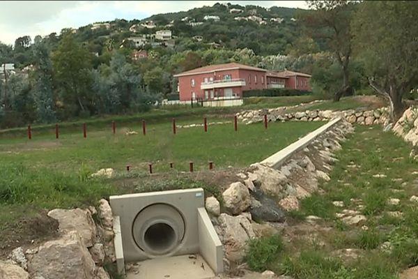 Des travaux d'aménagement importants ont été réalisés pour améliorer l'écoulement des eaux pluviales.