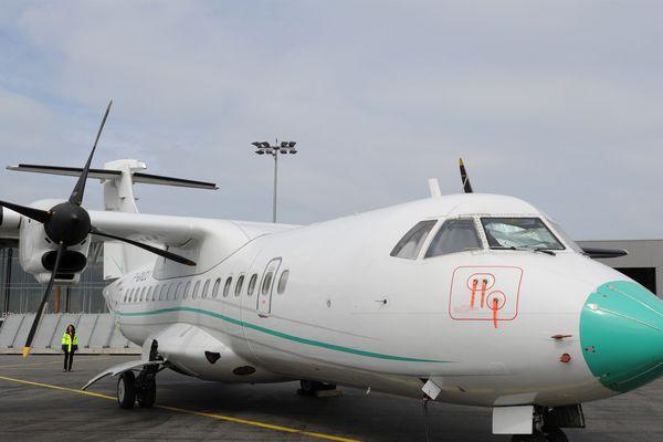 Un avion de la compagnie Chalair.