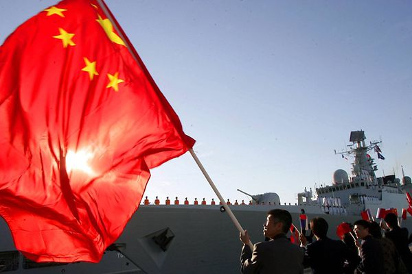 Le 21 septembre 2007 le Guangzhou et le Wieshan Lake deux navires chinois font escale à la base militaire de Toulon
