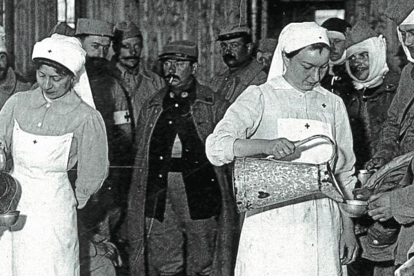Les infirmières de la grande guerre