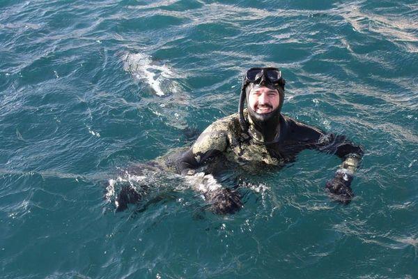 Mathieu Ferreira originaire de Marseille est le fondateur de l'association des pêcheurs du cœur.
