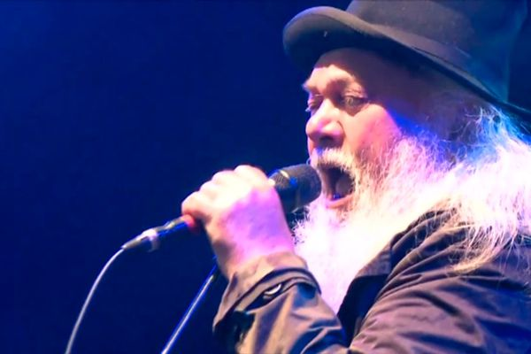 Parmi les artistes sur la scène du festival Rolling Saône, vendredi soir, le groupe Ange, qui fête son 50ème anniversaire.