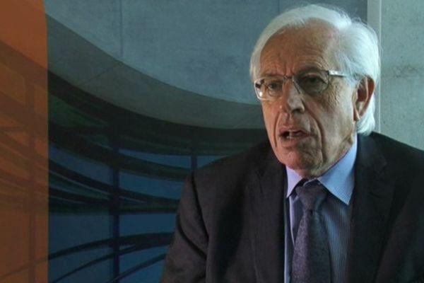 André Vézinhet, président du conseil général de l'Hérault