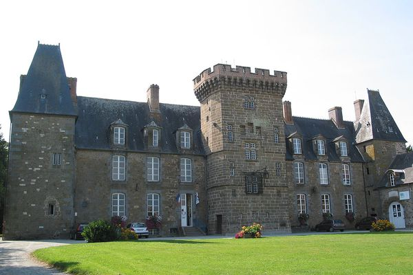 Dans l'Orne, des heures ensoleillées pour le Château de Rânes, en ce MARDI.