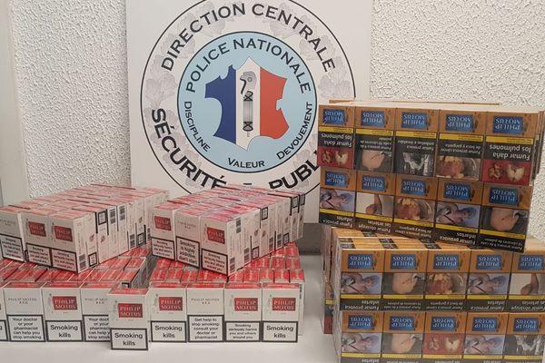 Les cigarettes de contrebande étaient revendues illégalement dans une épicerie de Perpignan