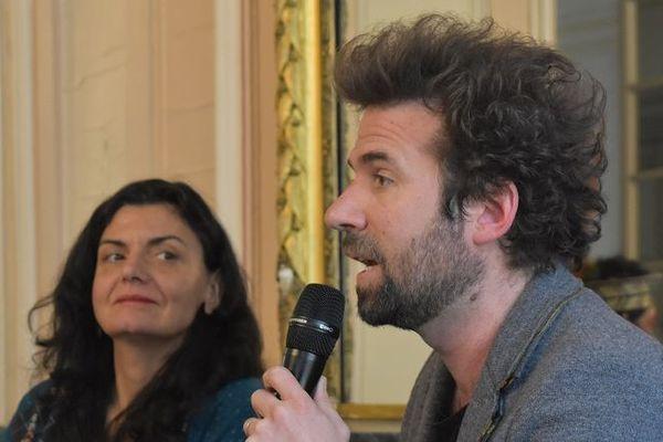 """Cyril Dion, réalisateur du film """"Demain"""", s'est livré à une conférence face à un public très attentif, à l'Hôtel de Ville de Metz, pour conclure ce G7 de l'environnement."""