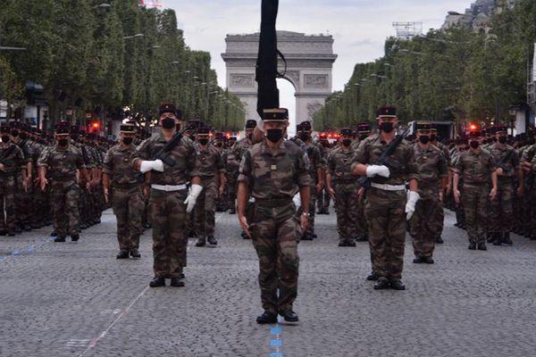 Deux compagnies du régiment du Tchad de Meyenheim dans le Haut-Rhin défileront sur les Champs Elysées le 14 juillet.