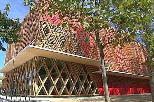 Montpellier - le théâtre Jean-Claude Carrière au domaine d'O - 20 septembre 2013.