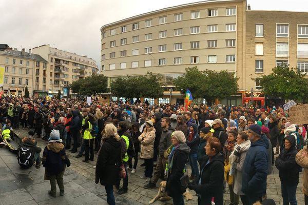 A Caen, la Marche pour le climat avait réuni 3000 personnes en décembre 2018.