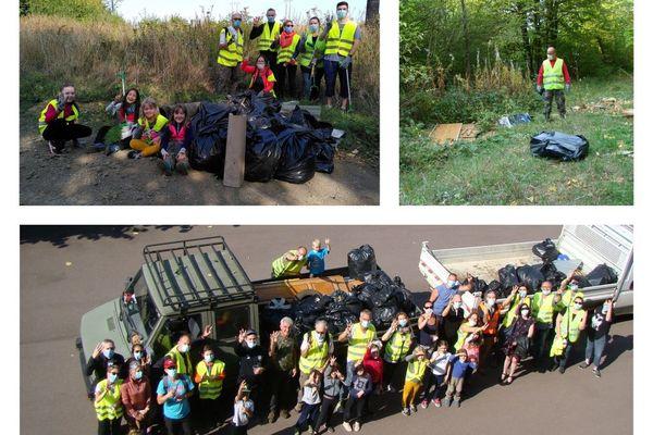 """3500 litres de déchets à Fontoy pour le """"World  Clean-up Day """""""