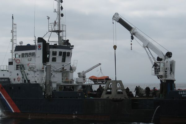 L'opération a été menée ce jeudi au large de l'île d'Oléron.