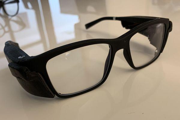 Le modèle le plus avancé des lunettes connectées Ellcie Healthy pour malvoyants.