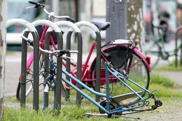 Le vol de vélos représente un véritable fléau pour la ville de Strasbourg.