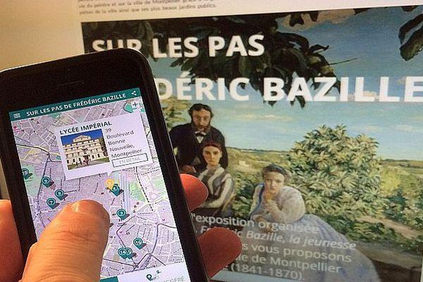 L'application géolocalisée pour découvrir le Montpellier de Bazille