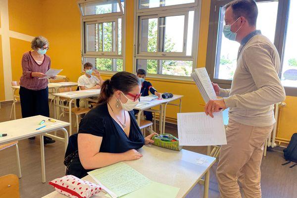 Au collège Louis Timbal de Châteauponsac, 35 élèves passent le DNB
