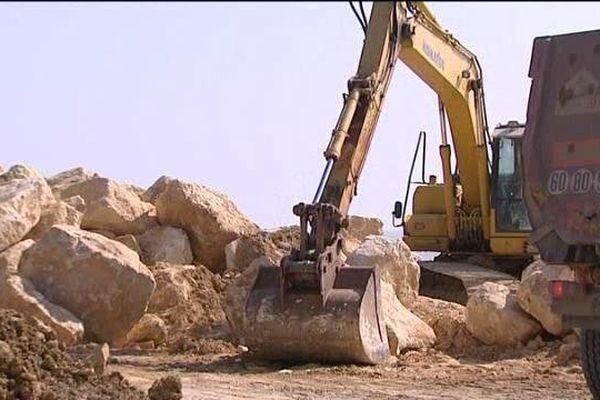 Coût des travaux sur la plage de La Palmyre : 270 000 euros.