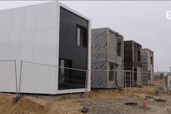 Les maisons en conteneurs de B3 Ecodesign