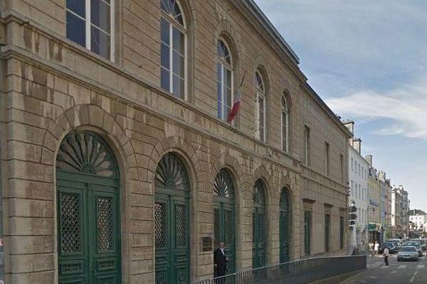 Le palais de justice de Cherbourg (archives)