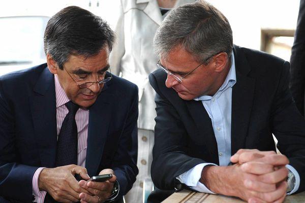 Ici en 2012, l' ex Premier ministre François Fillon est venu soutenir Marc Joulaud le candidat ump aux élections législatives pour la 4 eme circonscription de la Sarthe