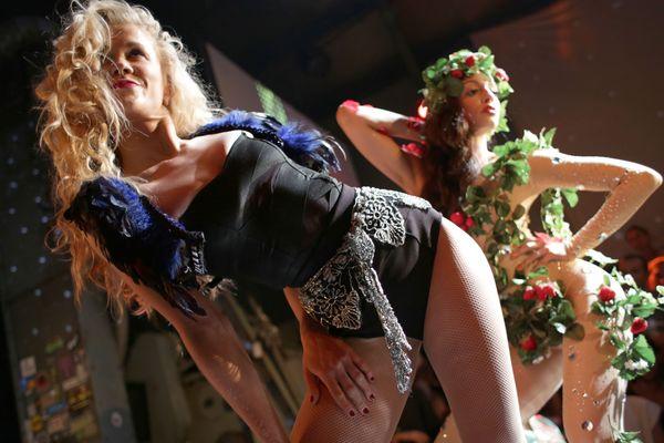 Des danseuses de voguing, à Berlin, en 2012.