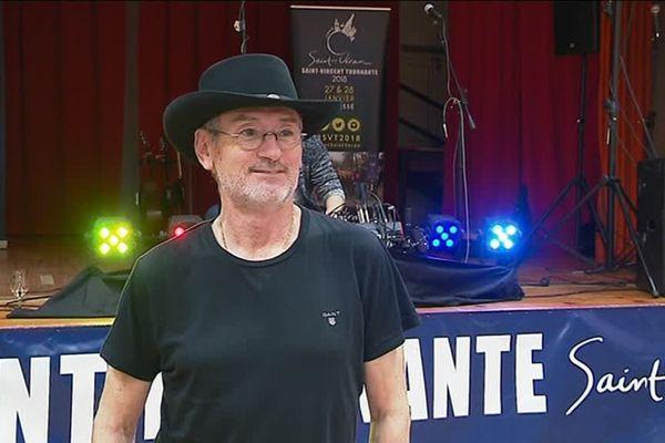 Le chanteur et guitariste Michael Jones est le parrain de la Saint-Vincent tournante 2018 qui a lieu à Prissé, en Saône-et-Loire samedi 27 et dimanche 28 janvier.