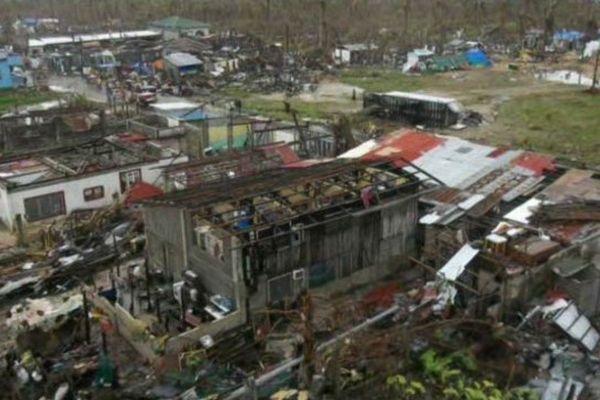 Aux Philippines, tout est détruit